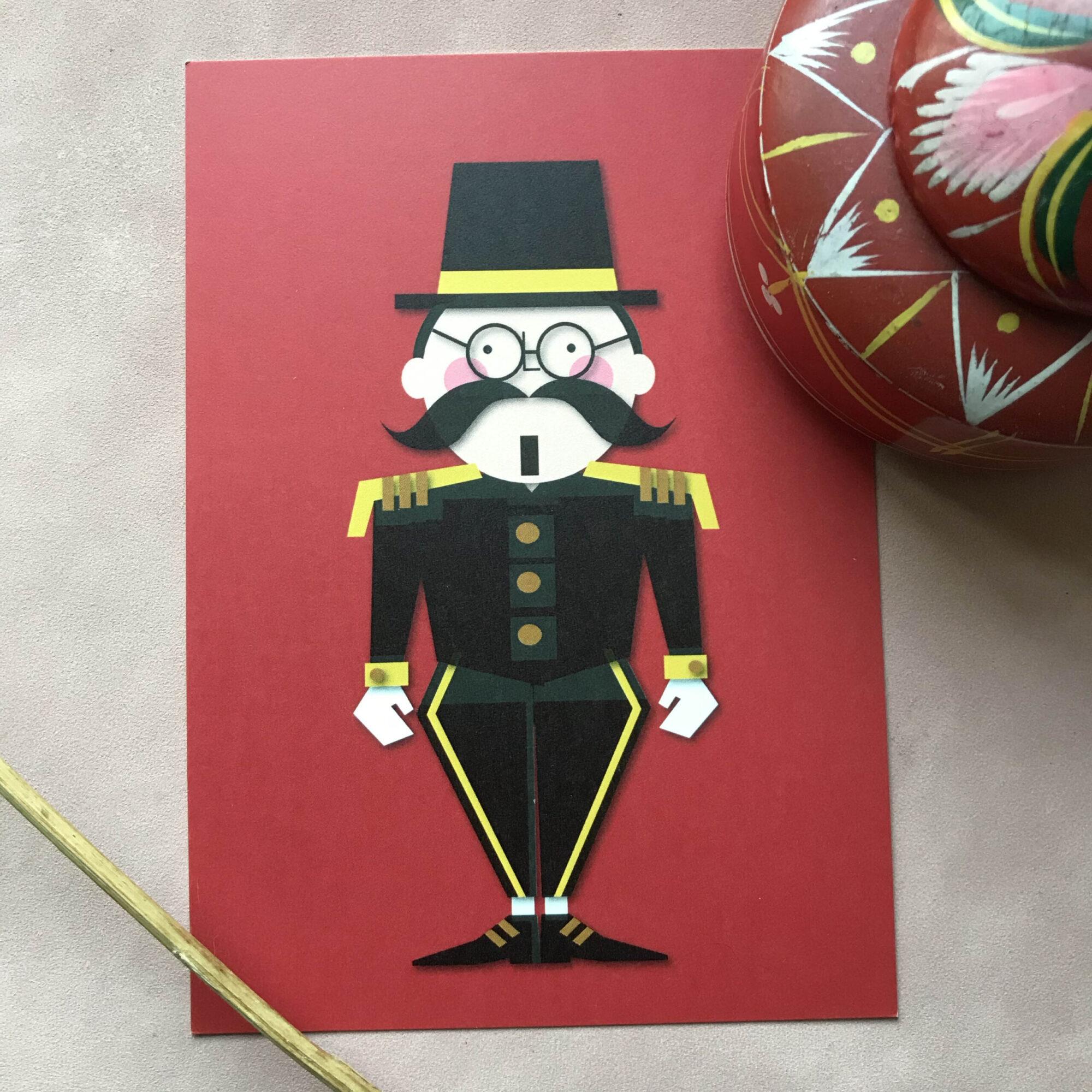 Spreekstalmeester - Jetske Kox Illustraties - Vrolijke posters, prints en ansichtkaarten