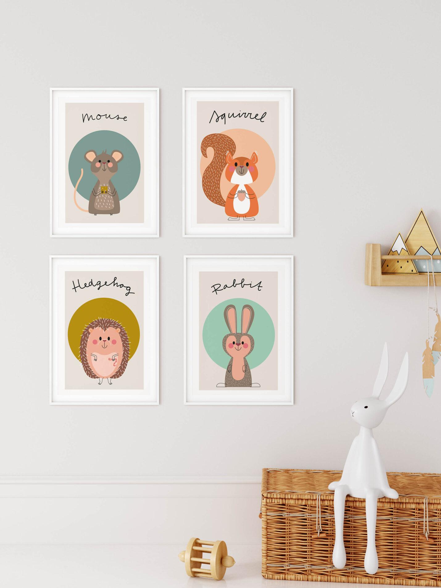 A4 Serie van prints